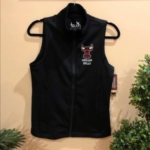 Chicago Bulls women full-zip vest